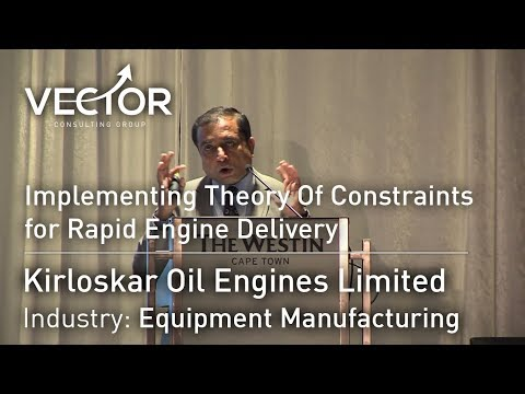 Kirloskar Oil Engines Limited: Implementing Theory Of Constraints for Rapid Engine Delivery