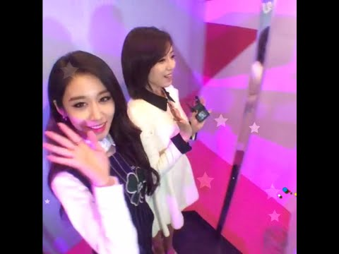 T-ara Jiyeon & Eunjung MC SBS AWARDS FESTIVAL 2014