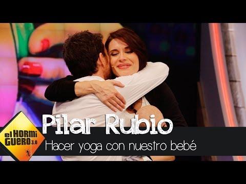 Pilar Rubio nos enseña a hacer yoga con nuestro bebé - El Hormiguero 3.0