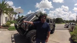 H1 Hummer LML Duramax Engine Conversion