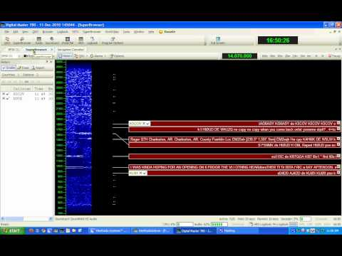 Using Ham Radio Deluxe (HRD) with a Flex 3000 Software Defined Radio (SDR)