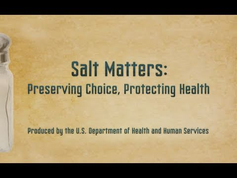 Salt Matters: Preserving Choice, Protecting Health