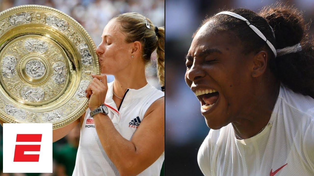 Wimbledon 2018 Highlights: Kerber stuns Serena Williams to win 3rd Grand Slam title | ESPN