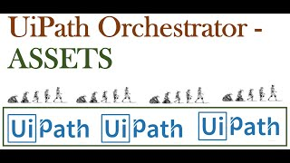 Assets in uipath tutorials || Uipath orchestrator assets