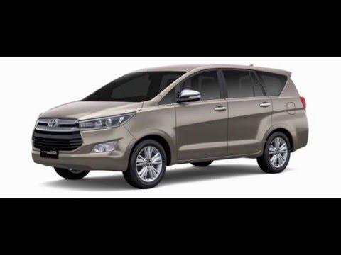 Toyota Innova Crysta 2016    Colors    India