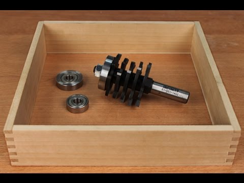 Infinity Cutting Tools Box Joint Router Bit Youtube