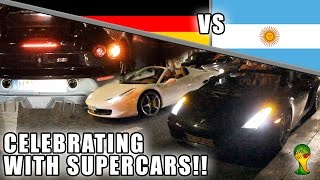 FOOTBALL CELEBRATION - GALLARDO + 458 REV BATTLE, SCUD,...