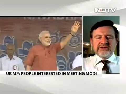 Nidhi Razdan of NDTV ripped by British MP Barry Gardiner over Narendra Modi being invited to UK