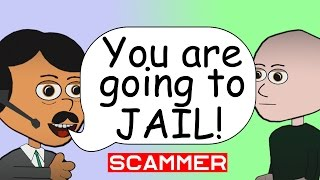 IRS Scammer - Department of Legal Affairs