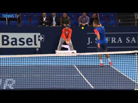 Basel 2014 Wednesday Hot Shot Coric
