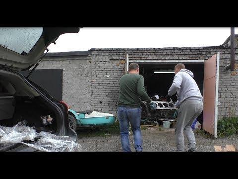 Что в итоге сделали с блоком за месяц. Mercedes W221 5.5 за 265.000 р. Эпизод 6.