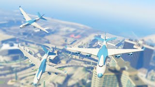 BIGGEST PLANE IN THE GAME (GTA 5 Funny Moments)