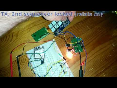 RX/TX Sequencer with Attiny
