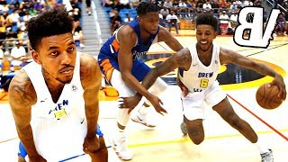 Nick Young Has Fun Getting BUCKETS in Drew League Playoffs! Demar Derozan Makes 32 Look EASY!