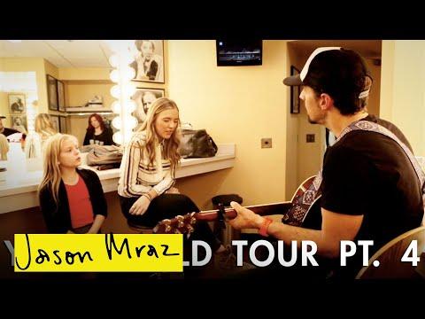 Jason Mraz - i Won't Give Up With Lennon & Maisy In Nashville ['yes!' World Tour - Pt. 4] video