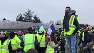 Gilets jaunes 1 décembre 2018 Saint-Brieuc / Langueux