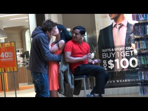 Kissing Against People Prank!!