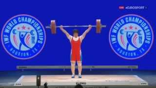 Unreal Rim Jong Sim (North Korea) at the Weightlifting Championships 2015 in Houston
