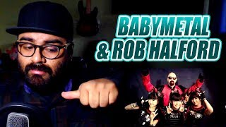 BABYMETAL AND ROB HALFORD-PAINKILLER-BREAKING THE LAW-OPINIÓN
