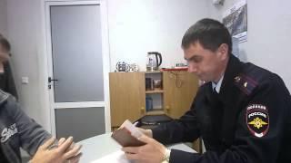 Командующий ВС СССР по Курской области принял представителя фирмы УМВД 08-09-2015 года