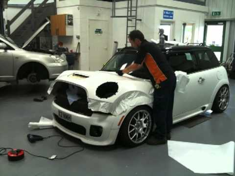 Vehicle Wrapping Mini Cooper S R56 Youtube