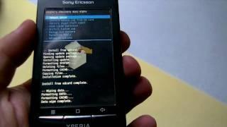 Прошивка Xperia X8 Android 2.2