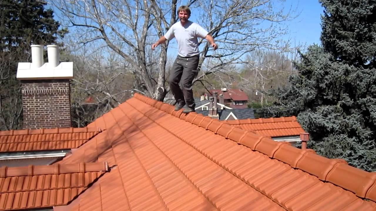 Walking On Roof Tiles Youtube