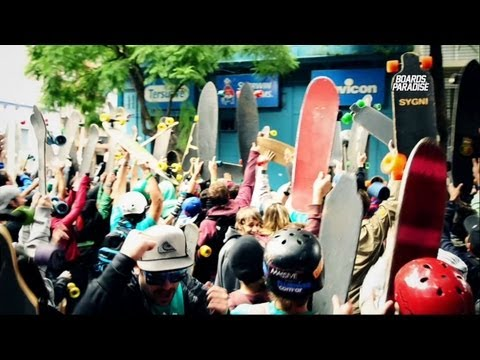 GREEN DAY SKATE 2012 | Rosario - Argentina | BOARDS PARADISE - THISIS BP