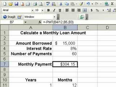 Use Goal Seek in Excel to Structure Your Loan