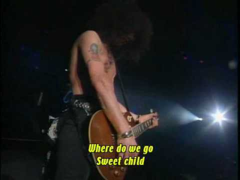Guns N Roses - Sweet Child O Mine Live