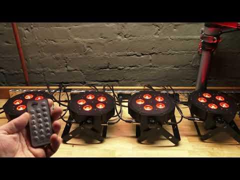 Lighting Help - Master Slave ADJ IR Remote Compatible LED Fixtures Using a UC IR