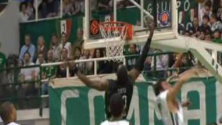 SIENA-PANATHINAIKOS 84-91 PANATHINAIKOS HIGHLIGHTS
