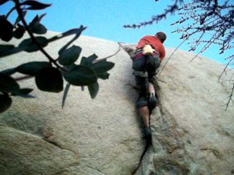 Mt woodson San Diego climbing