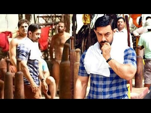Aamir Khan On DANGAL Movie Sets LEAKED Full Video thumbnail