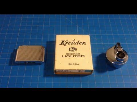 Vintage Table Lighter: Colibri. Bently. Kreisler