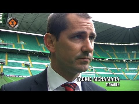 Dundee United - Jackie McNamara post match v Celtic 16/08/2014