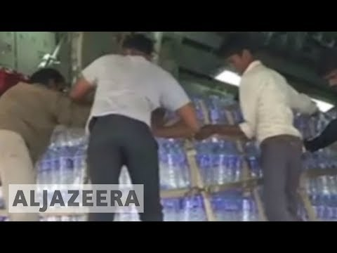 India airlifts drinking water to Maldives