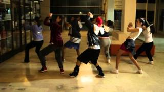 Oda dans High Powered Boys-Work choreography
