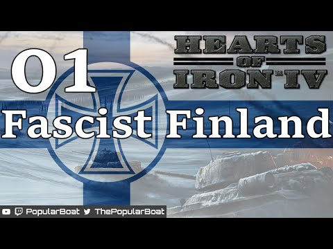 Hearts of Iron IV [Greater Finland | custom AI peace mod] Part 01 - National preparations