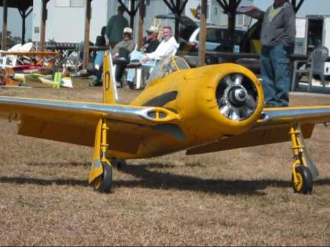 Kirby's R/C F8F Bearcat