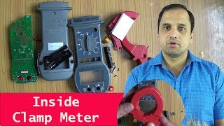 What Inside Clamp Meter? Measure dc and ac current...