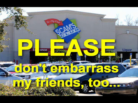 Sam's Club credit card scam (SCAM'S CLUB)