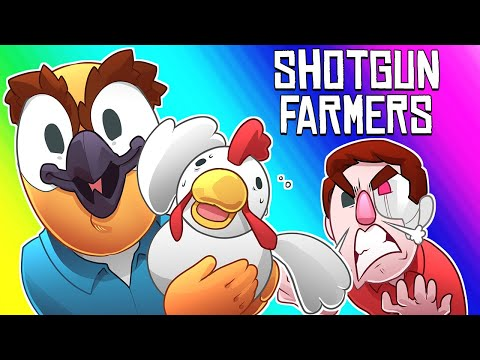 Shotgun Farmers Funny Moments - Terroriser Hates This Game!