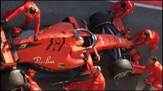 Ferrari SF90 test Barcellona 18 february 2019 Sebastian Vettel