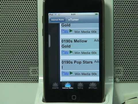 KeyStone iPhone/iPod Docking Station with DAB/DAB+/FM/Internet Radio/Mp3