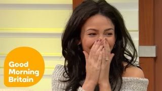 Michelle Keegan Nearly Misses Her Interview Because of a Tube Strike | Good Morning Britain