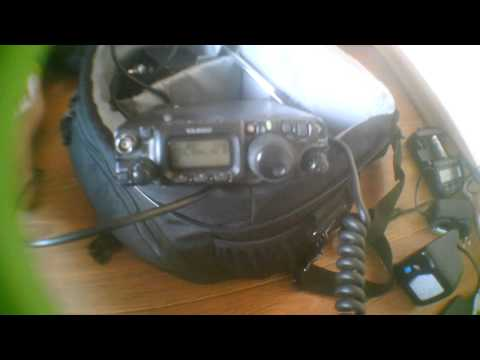 QRP DX  (again) with less than 5W and mobile whip antenna - Argentina LU8EEM