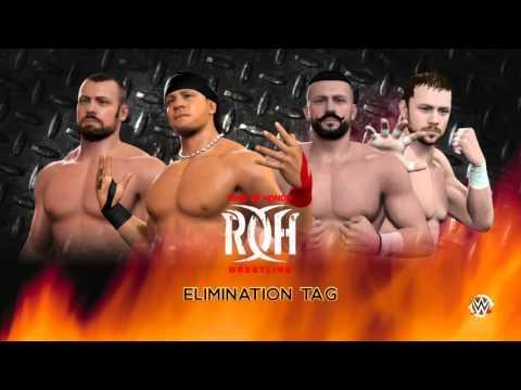 WWE 2k16 RING Of HONOR Wrestling AND New JAPAN Pro Wrestling univers mode episode 2