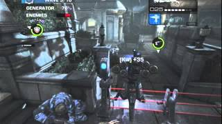 EPIC AND AWESOME Gears Of War Judgement Survival (horde) mode gameplay playthrough 1 player