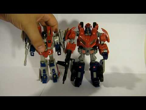 Transformers: War for Cybertron Deluxe Optimus Prime